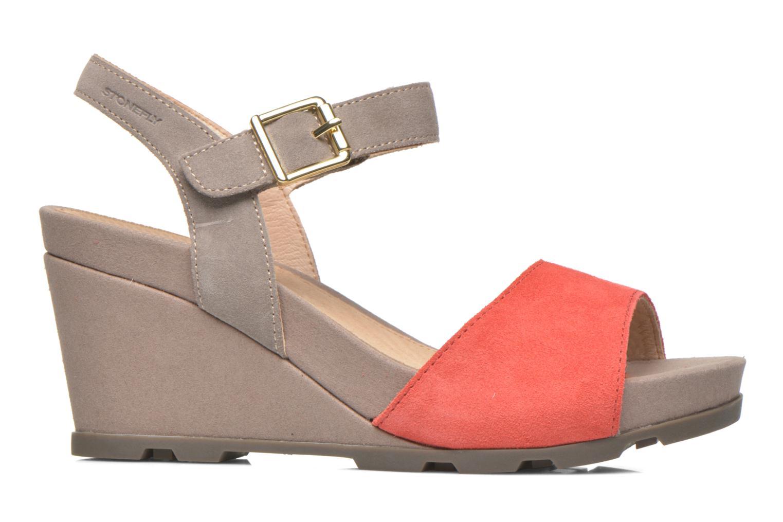 Sandali e scarpe aperte Stonefly Anita 1 Velour Grigio immagine posteriore