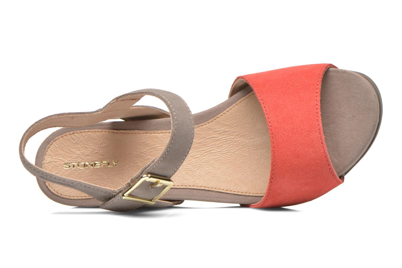 Sandali e scarpe aperte Stonefly Anita 1 Velour Grigio immagine sinistra