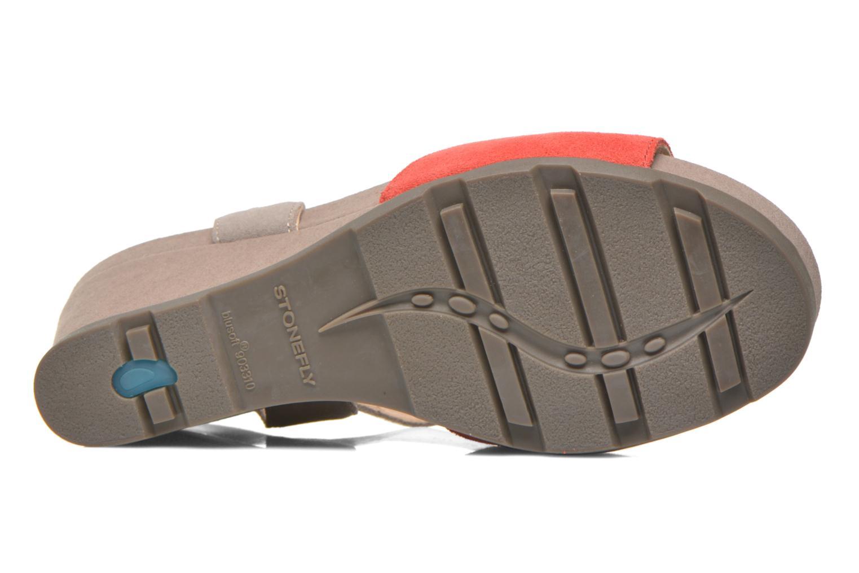 Sandali e scarpe aperte Stonefly Anita 1 Velour Grigio immagine dall'alto