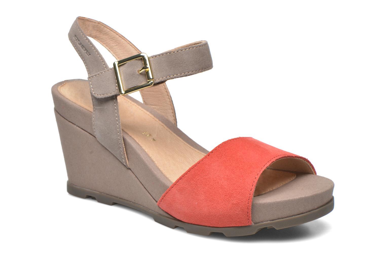 Sandales et nu-pieds Stonefly Anita 1 Velour Gris vue détail/paire