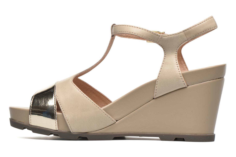 Sandales et nu-pieds Stonefly Anita 3 Beige vue face