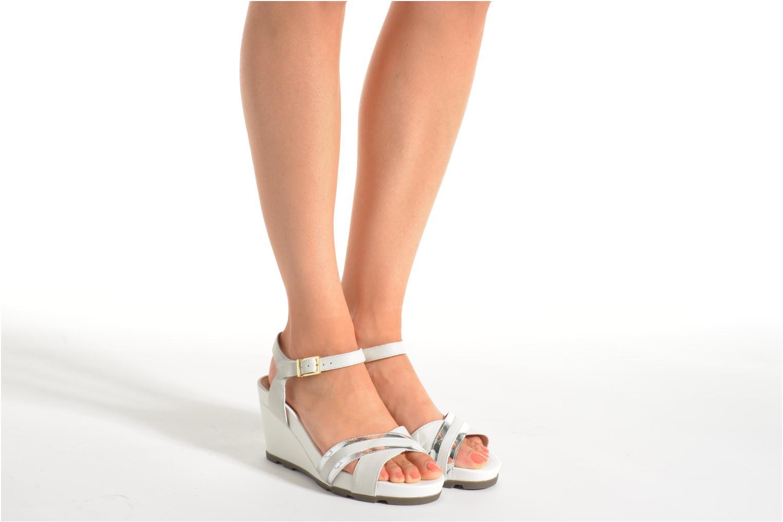 Sandales et nu-pieds Stonefly Anita 4 Blanc vue bas / vue portée sac