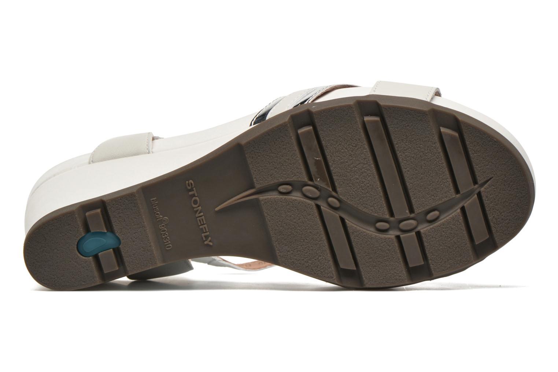 Sandales et nu-pieds Stonefly Anita 4 Blanc vue haut