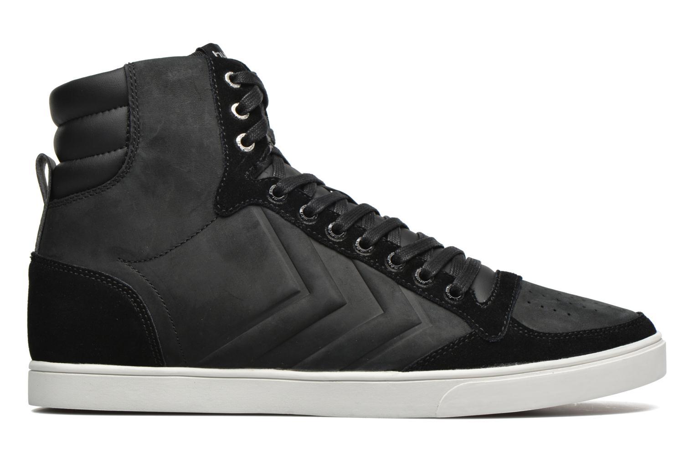 Sneaker Hummel Ten Star Mono Oiled High schwarz ansicht von hinten