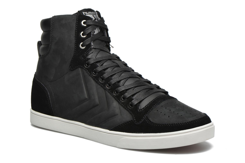 Sneakers Hummel Ten Star Mono Oiled High Sort detaljeret billede af skoene