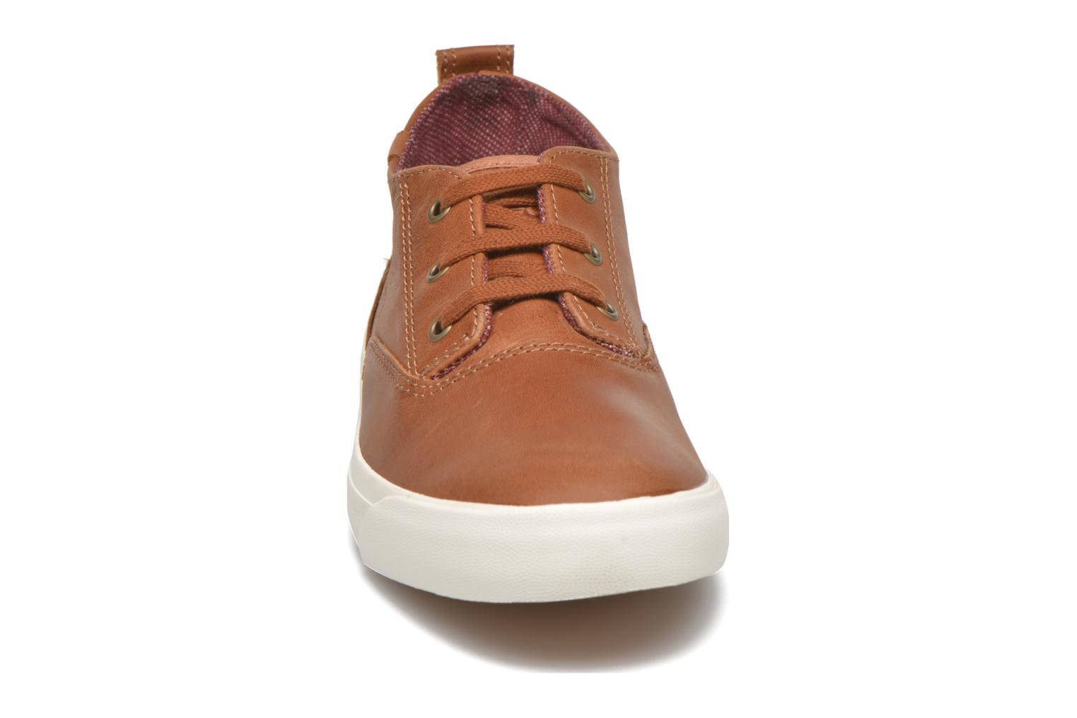 Trainers Keds Triumph Mid Leather Brown model view