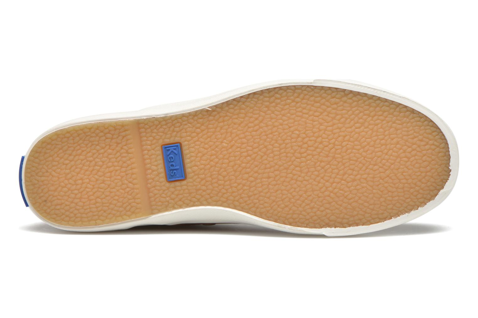 Sneakers Keds Triumph Mid Leather Bruin boven