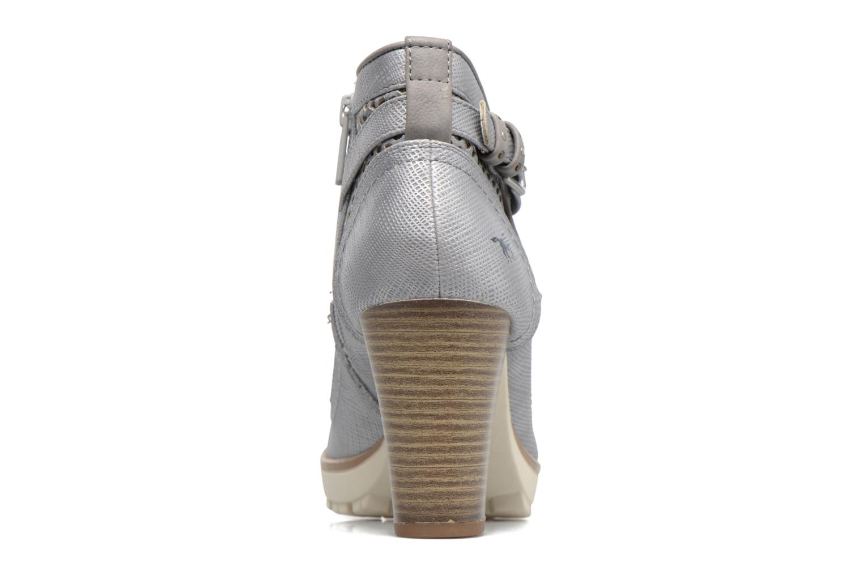 Bottines et boots Mustang shoes Eva Gris vue droite