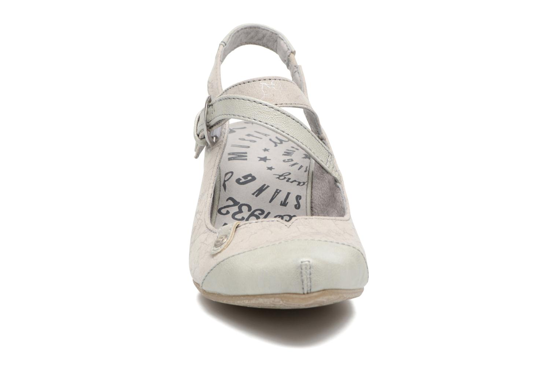 Escarpins Mustang shoes Olivia Gris vue portées chaussures