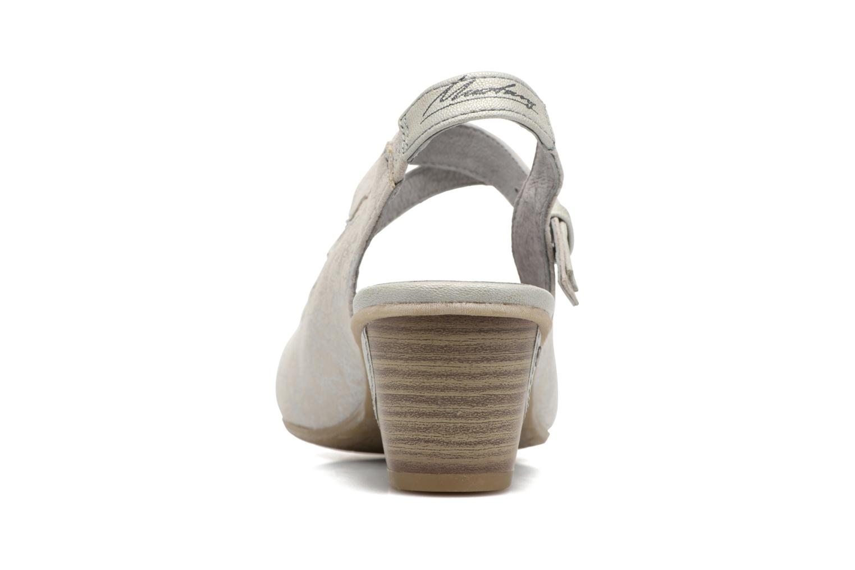 Escarpins Mustang shoes Olivia Gris vue droite