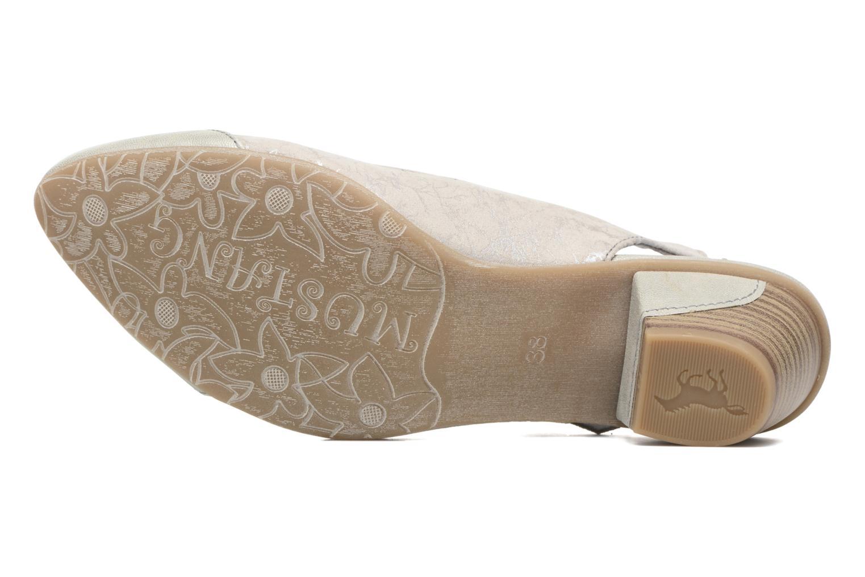 Escarpins Mustang shoes Olivia Gris vue haut