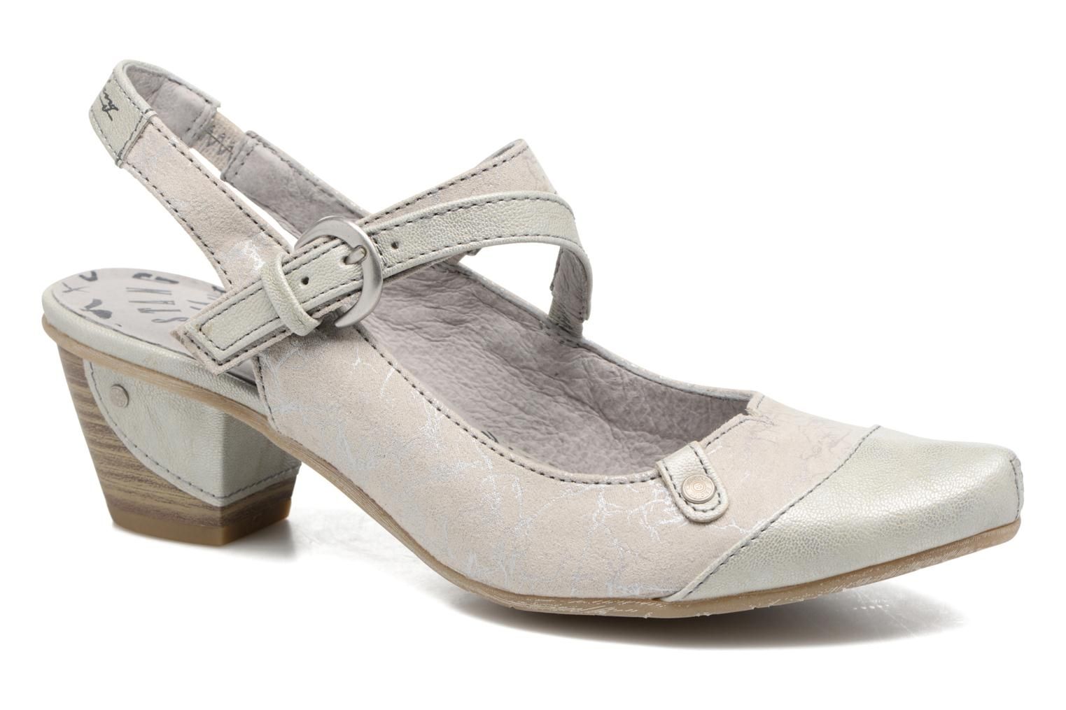 Pumps Mustang shoes Olivia grau detaillierte ansicht/modell