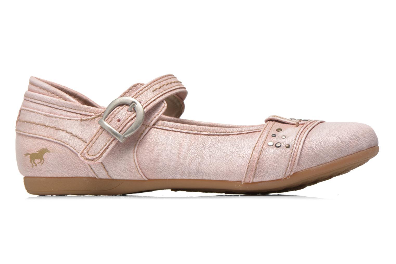 Ballerinas Mustang shoes Julietta rosa ansicht von hinten
