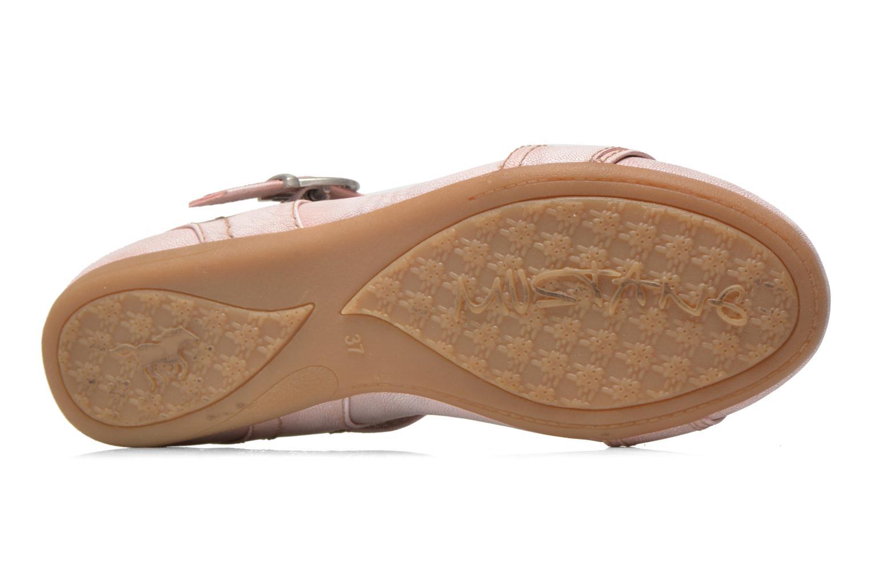 Ballerinas Mustang shoes Julietta rosa ansicht von oben