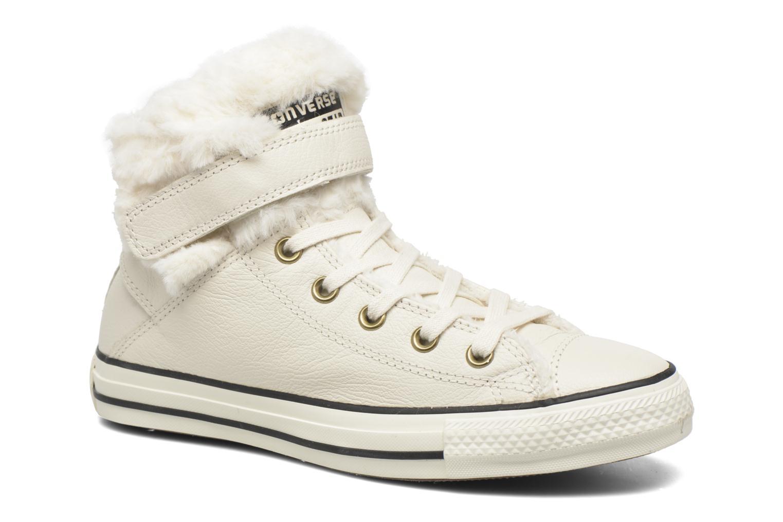 Sneaker Converse Chuck Taylor All Star Brea Leather+Fur Hi beige  detaillierte ansicht/modell