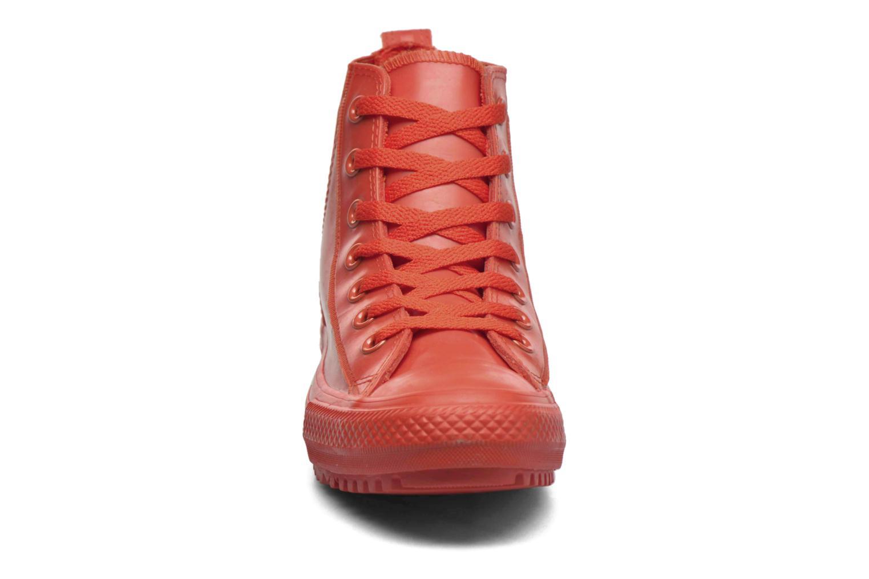 Baskets Converse Ctas Chelsea Boot Rubber Hi Rouge vue portées chaussures
