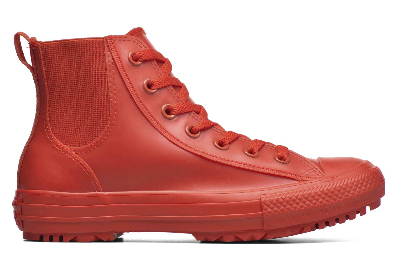 Deportivas Converse Ctas Chelsea Boot Rubber Hi Rojo vistra trasera