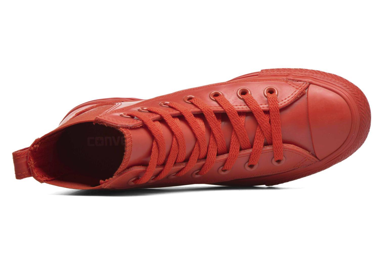 Baskets Converse Ctas Chelsea Boot Rubber Hi Rouge vue gauche