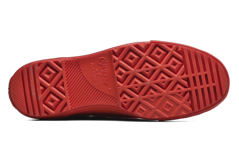 Baskets Converse Ctas Chelsea Boot Rubber Hi Rouge vue haut