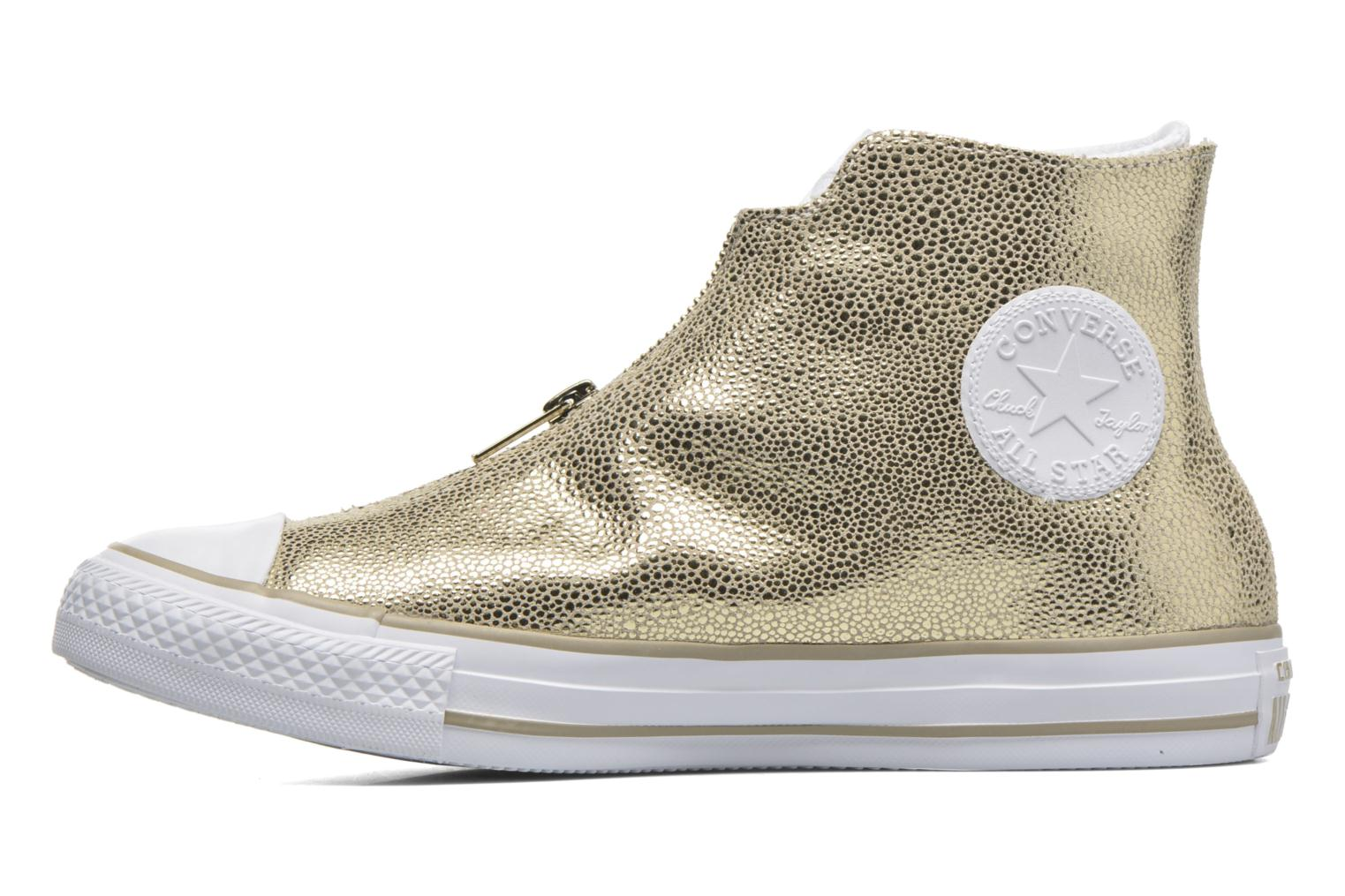 Trainers Converse Ctas Classic Shroud Hi Bronze and Gold front view