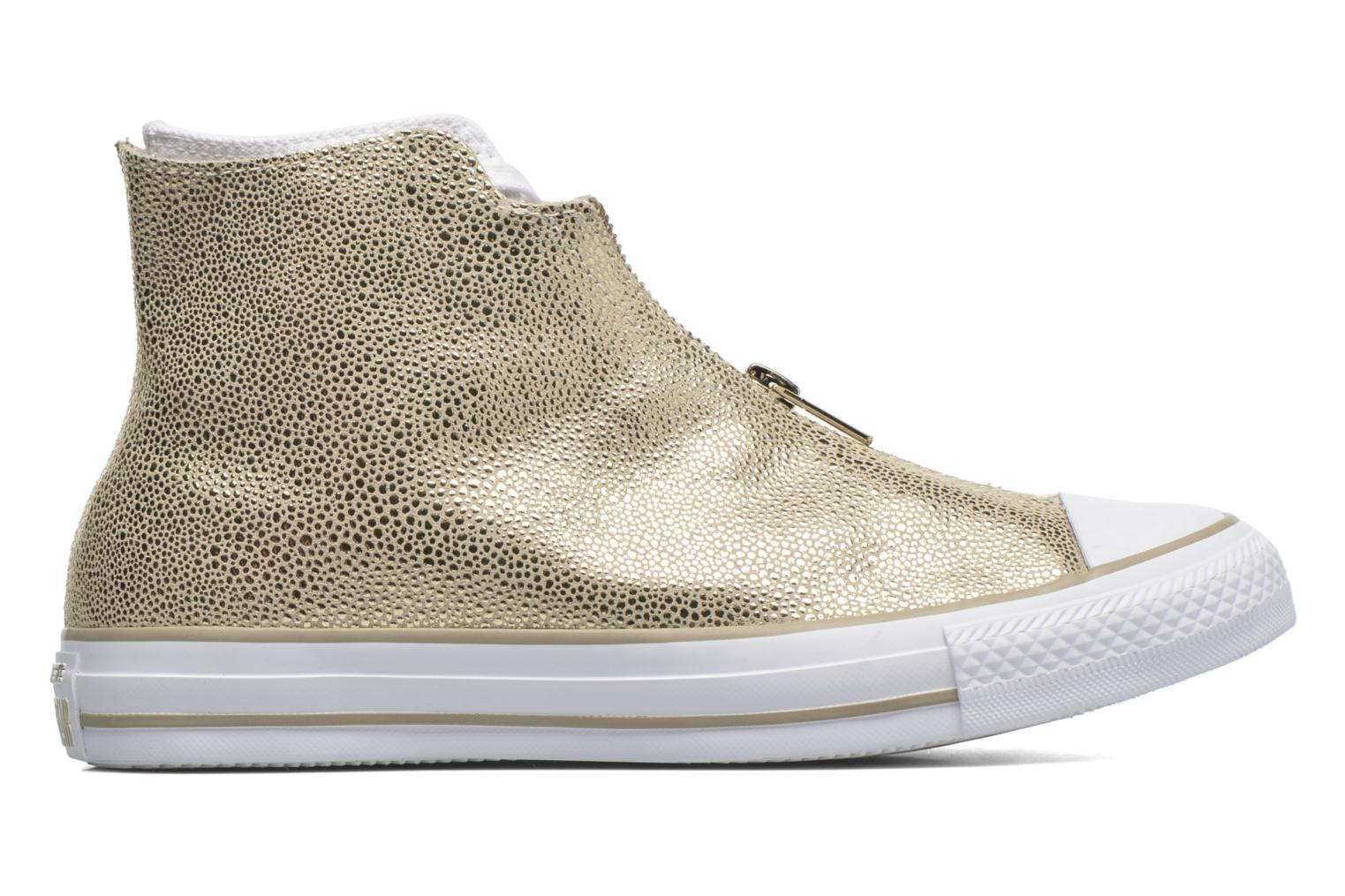 Trainers Converse Ctas Classic Shroud Hi Bronze and Gold view from the right