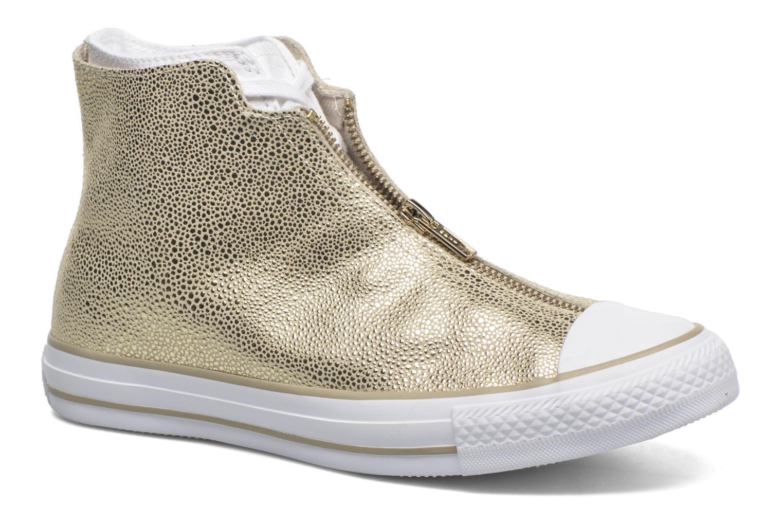 Baskets Converse Ctas Classic Shroud Hi Or et bronze vue détail/paire