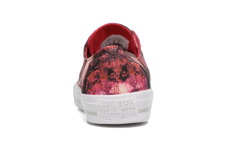 Sneaker Converse Chuck Taylor All Star Gemma Ox rot ansicht von rechts
