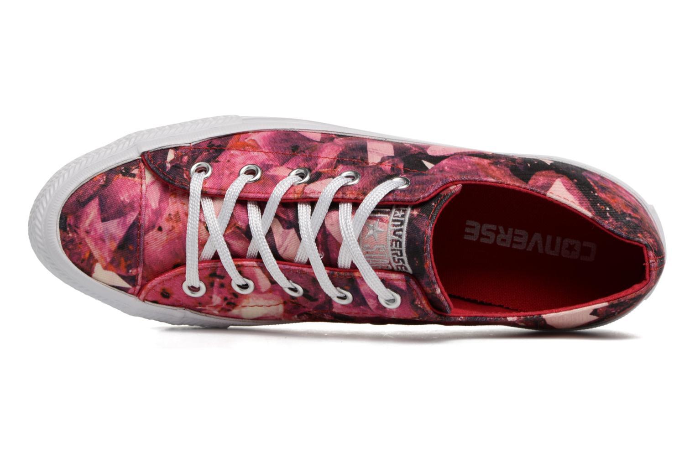 Sneaker Converse Chuck Taylor All Star Gemma Ox rot ansicht von links