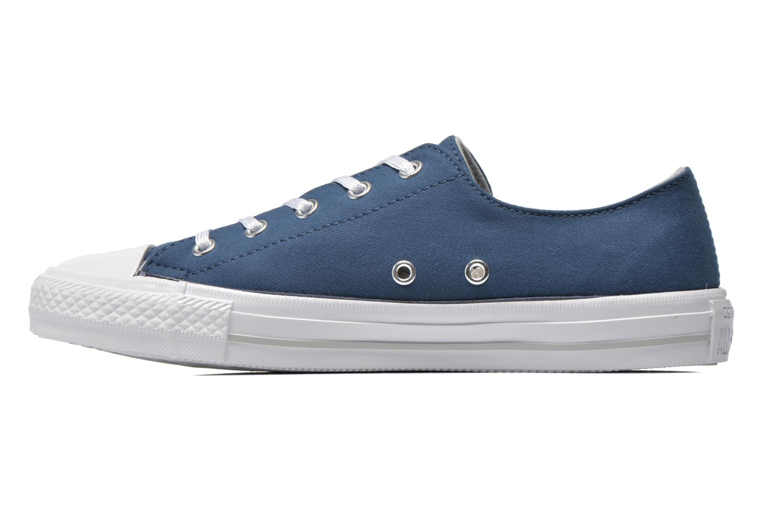 Trainers Converse Chuck Taylor All Star Gemma Twill Ox Blue front view
