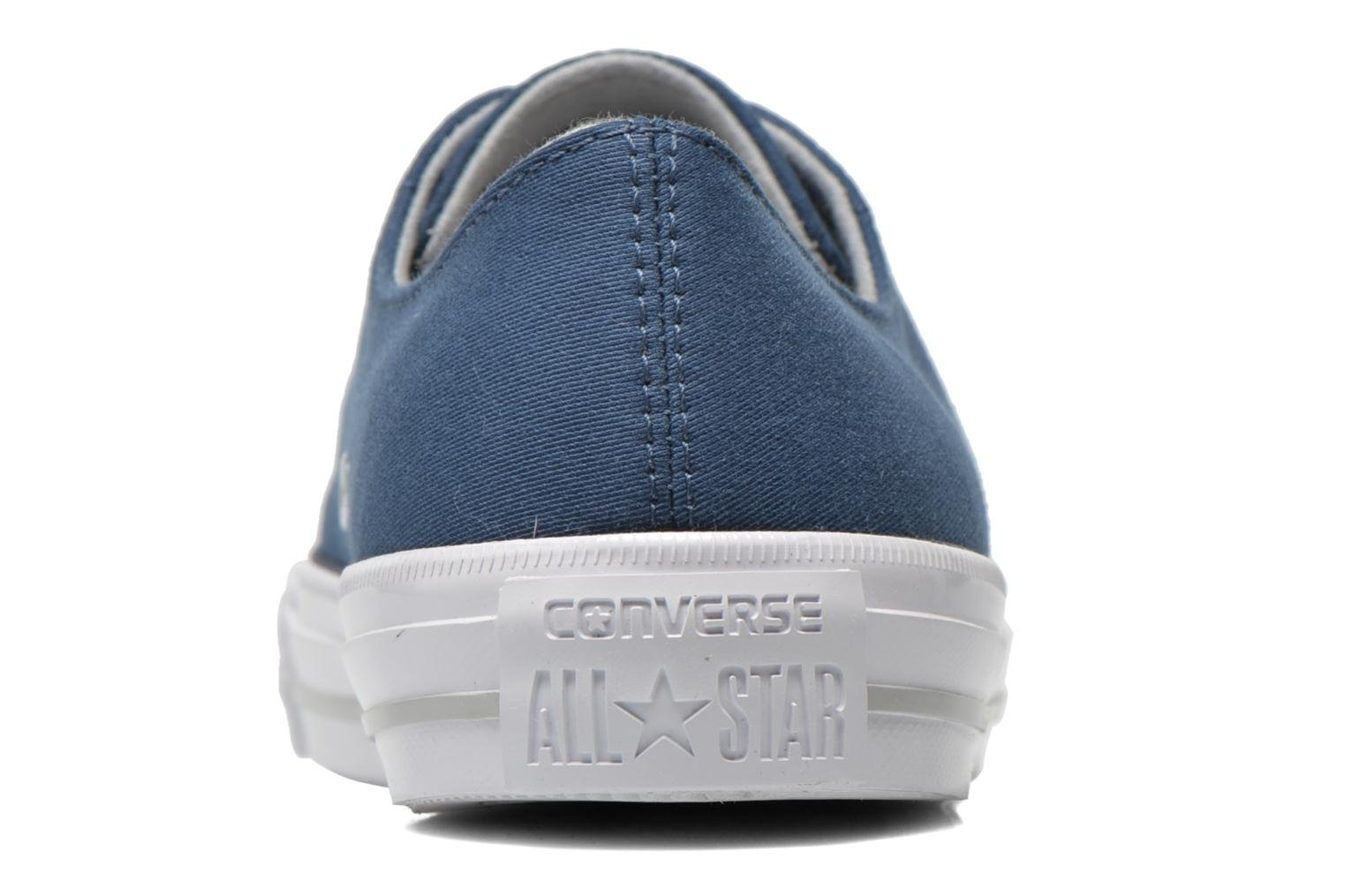 Trainers Converse Chuck Taylor All Star Gemma Twill Ox Blue view from the right