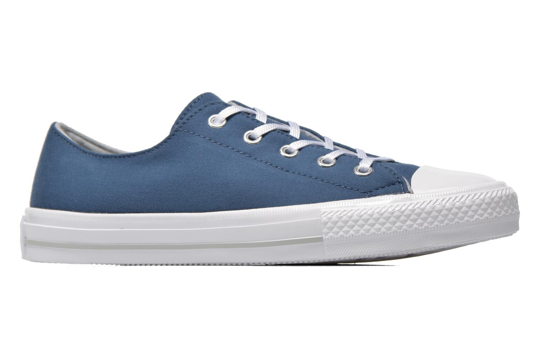 Sneakers Converse Chuck Taylor All Star Gemma Twill Ox Azzurro immagine posteriore