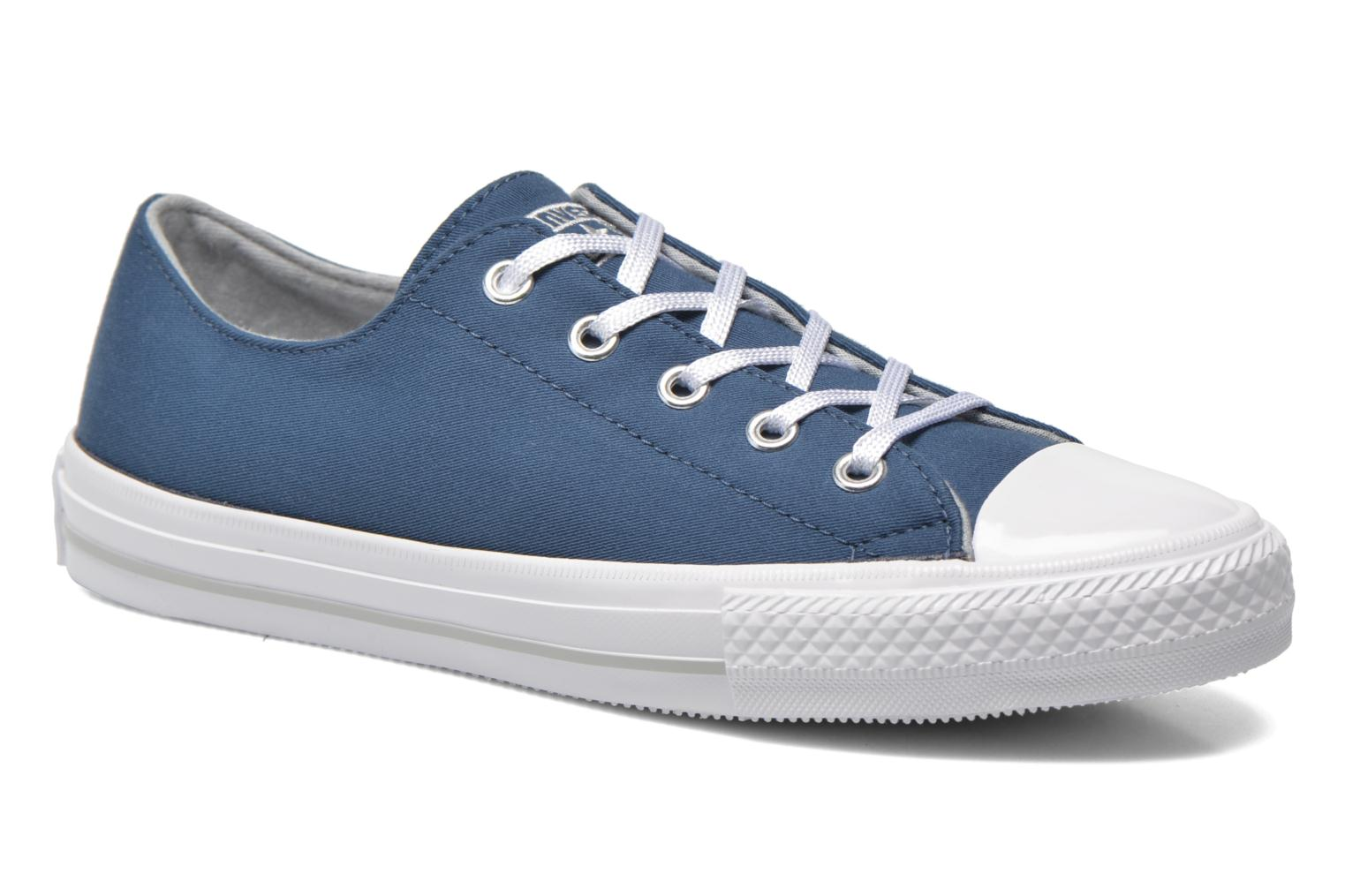 Trainers Converse Chuck Taylor All Star Gemma Twill Ox Blue detailed view/ Pair view