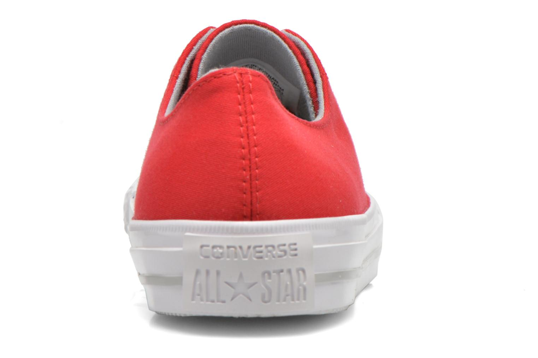 Sneakers Converse Chuck Taylor All Star Gemma Twill Ox Rosso immagine destra