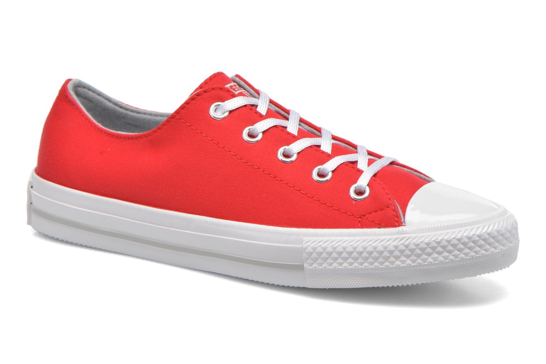 Deportivas Converse Chuck Taylor All Star Gemma Twill Ox Rojo vista de detalle / par