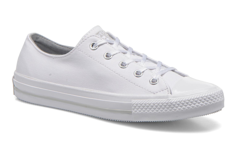 Sneakers Converse Chuck Taylor All Star Gemma Twill Ox Bianco vedi dettaglio/paio