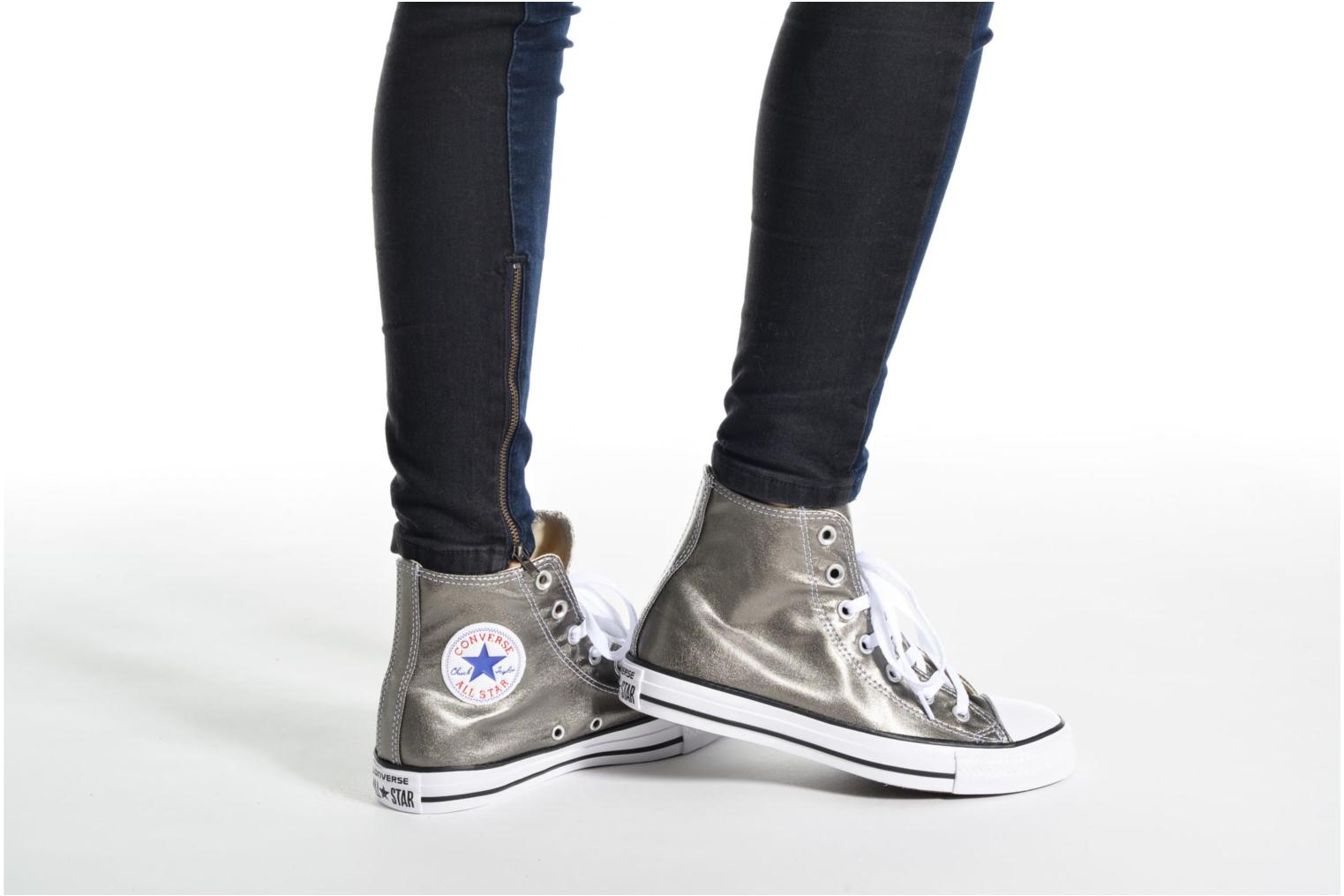Chuck Taylor All Star Hi Metallics W Light Gold/White/Black