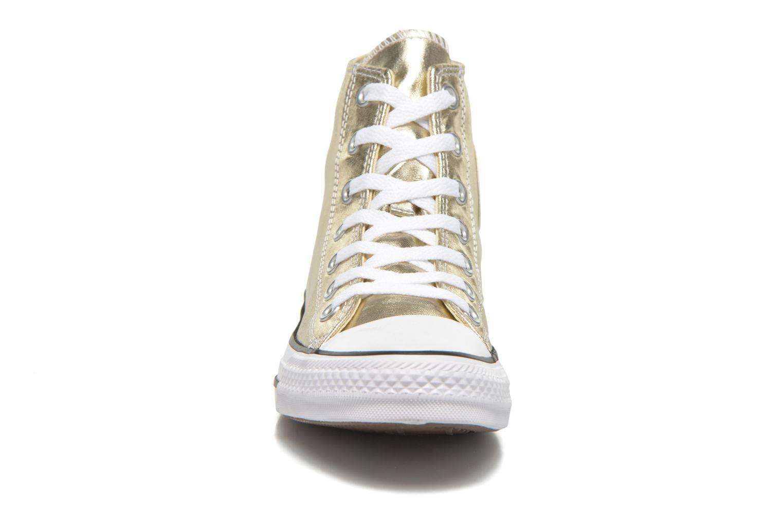 Light GoldWhiteBlack Converse Chuck Taylor All Star Hi Metallics W (Or et bronze)