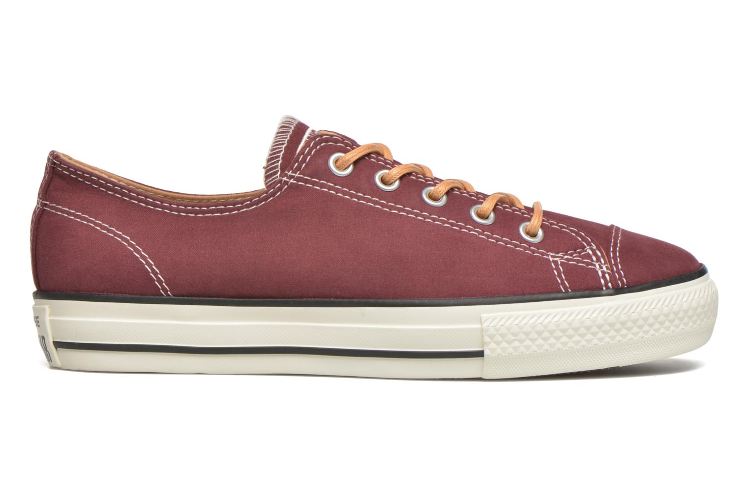 Trainers Converse Ctas High Line Peached Canvas Ox Red back view