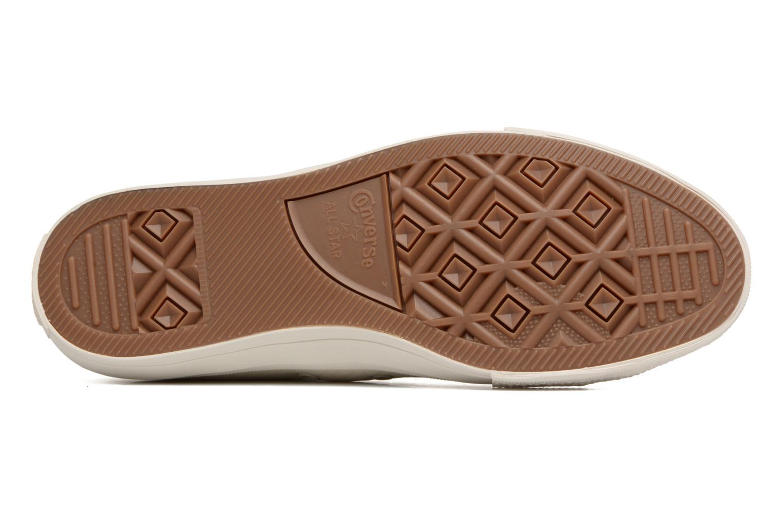 Sneaker Converse Chuck Taylor All Star II Mesh-Backed Leather Ox M beige ansicht von oben