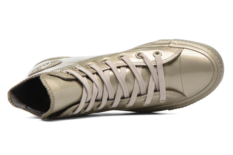 Baskets Converse Ctas Metallic Rubber Hi W Or et bronze vue gauche
