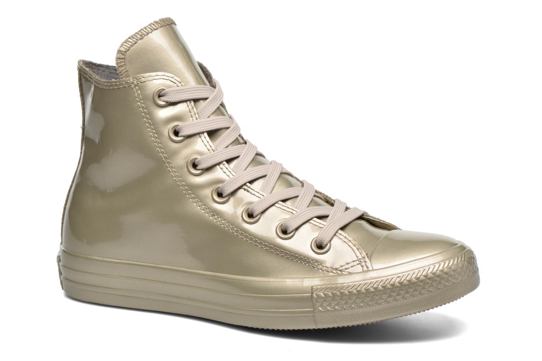 Baskets Converse Ctas Metallic Rubber Hi W Or et bronze vue détail/paire