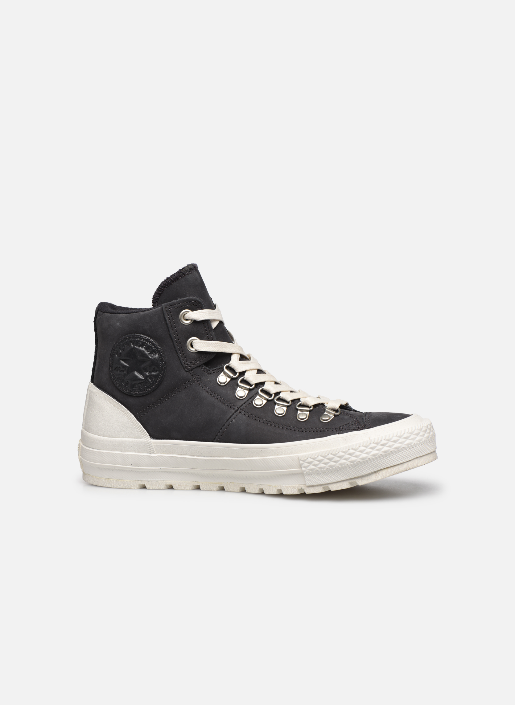 Trainers Converse Ctas Street Hiker Hi Black back view