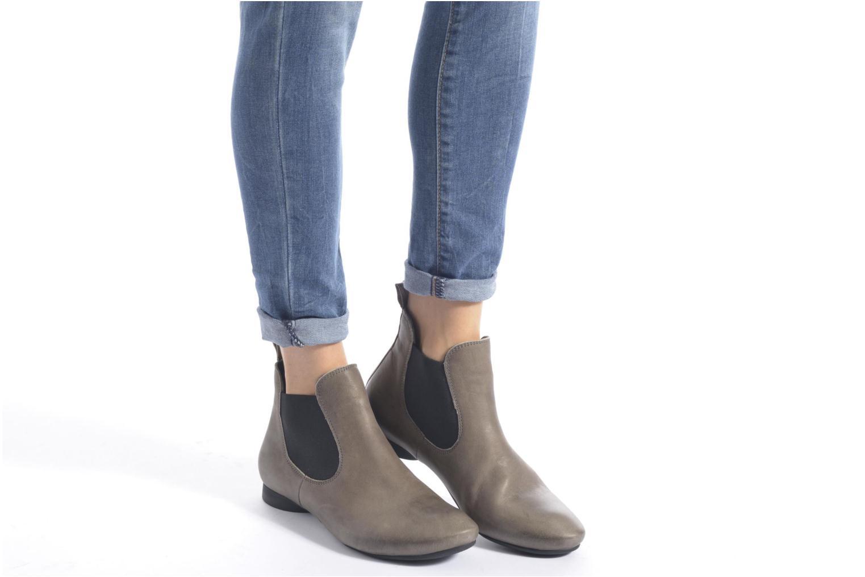Bottines et boots Think! Guad 87293 Gris vue bas / vue portée sac