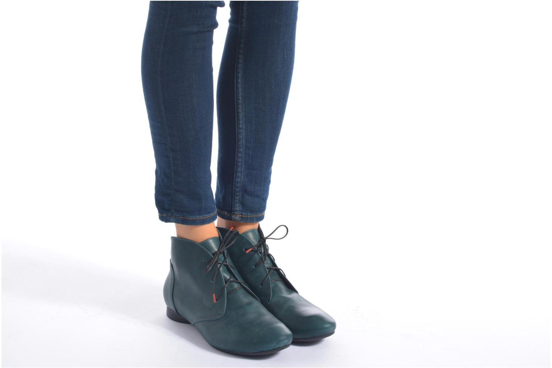 Bottines et boots Think! Guad 87298 Bleu vue bas / vue portée sac