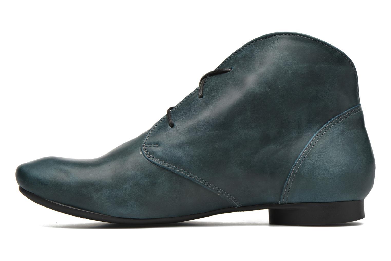 Bottines et boots Think! Guad 87298 Bleu vue face