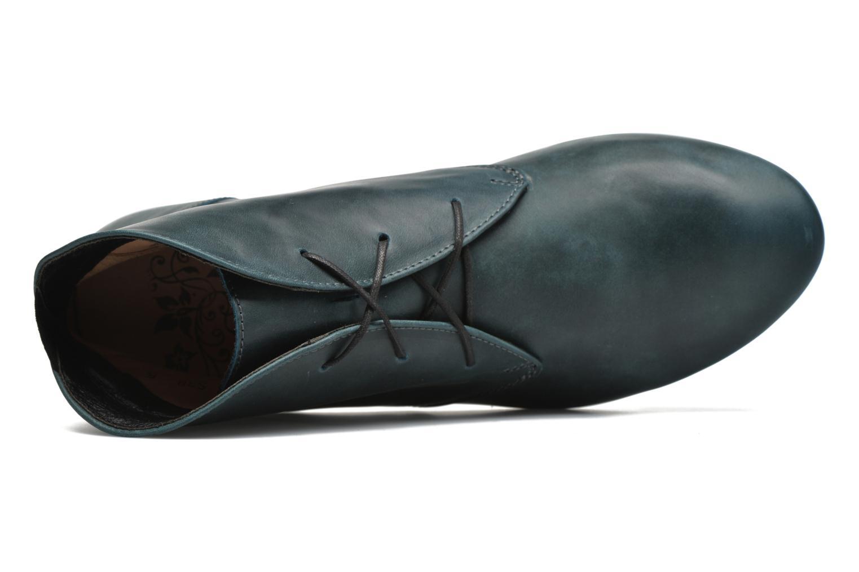 Bottines et boots Think! Guad 87298 Bleu vue gauche
