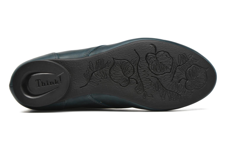 Bottines et boots Think! Guad 87298 Bleu vue haut