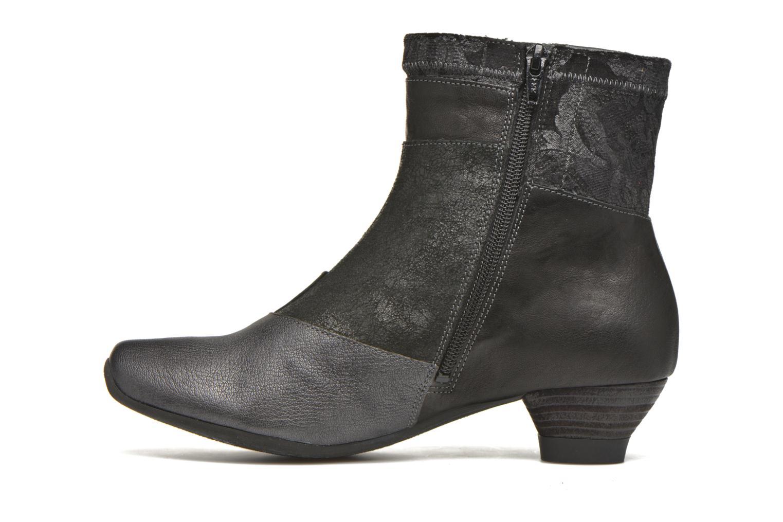 Bottines et boots Think! Aida 87260 Noir vue face