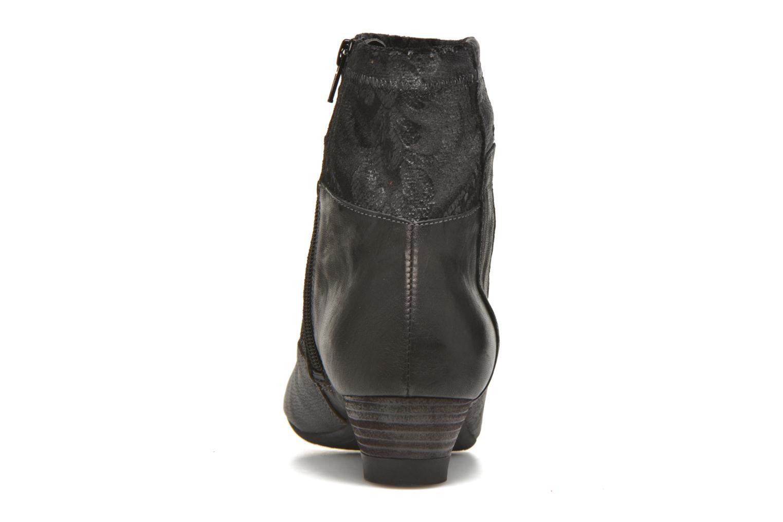Bottines et boots Think! Aida 87260 Noir vue droite