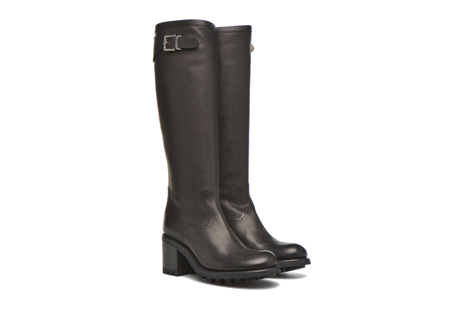 Boots & wellies Free Lance Justy 7 cavalière Black 3/4 view